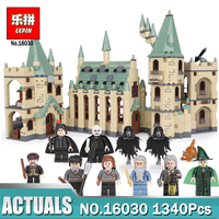 New Lepin 16030 The Hogwarts Castle 1340pcs Creative Movies Building Block Bricks Compatible 4842 Educational Toy