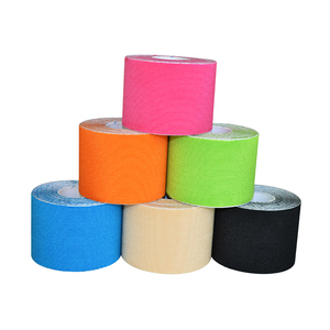 Image 2 - 6rolls/lot High quanlity Synthetic Kinesiology Tape 5cm*5m Viscose rayon Kinesioshiny Tape for Athletes and Sports Safety