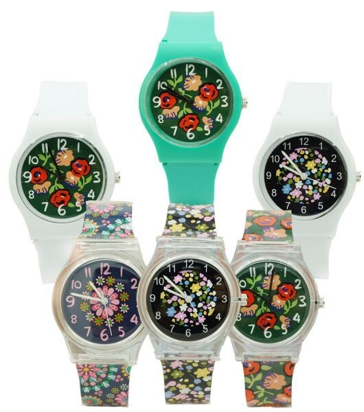 hight quality Quartz Fashion Colorful Round Dial Analog Wrist Watch with Ultrath
