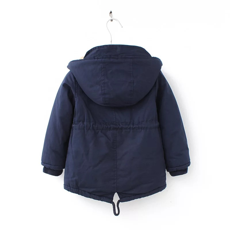 New winter children down & parkas 2-9Y European style boys girls warm outerwear color green blue hooded coats for girls 11
