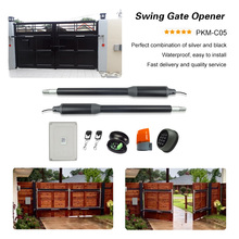powerfull automatic and electric sliding gate opener swing gate motor and operator electric gates electric swing gate opener 300 kg swing gate motor with 5 remote control
