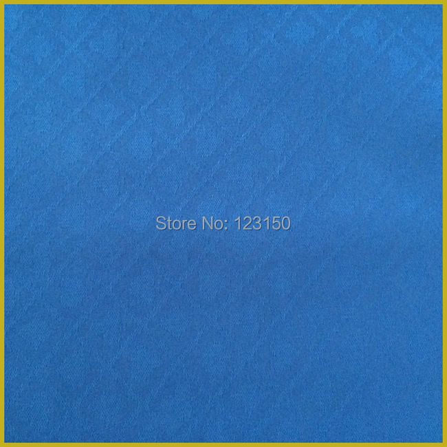 ZB-023-2.5m Blue Poker Table Waterproof Suited Speed Cloth 2.5m/pc, Width 1.5M