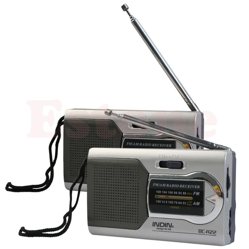Tragbares Audio & Video Unterhaltungselektronik Rational Neue Universal Dünne Am/fm Mini Radio Welt Empfänger Stereo Lautsprecher Musik Player