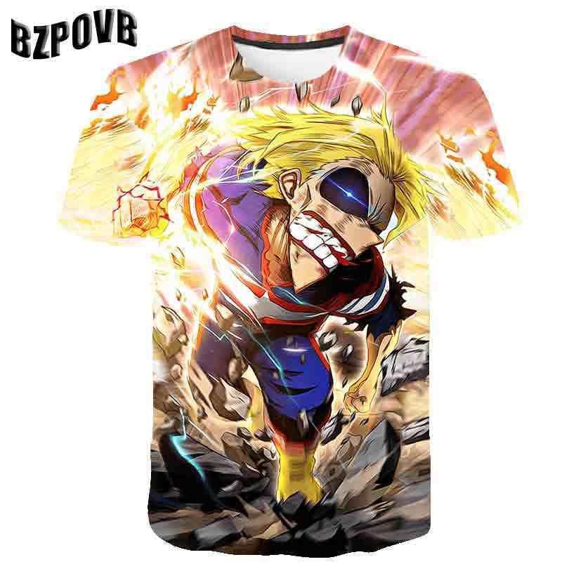 2019 Zomer Nieuwste Clown 3D Print Cool Grappige T-shirt Fashion Mannen Korte Mouw Tops T Shirt Mannen Leisure Ademend Tops tee