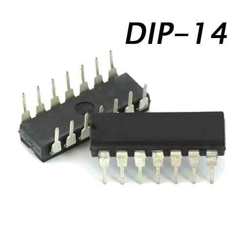 1PCS/LOT 74HC132 74HC132N SN74HC132 SN74HC132N DIP IC DIP-14 New