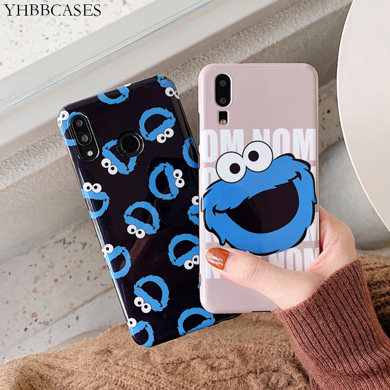 YHBBCASES Cartoon Cute Phone Cover For Mate 10 20 Pro Soft Cases Honor 9 10 Nova 2s 3e For Huawei P10 Plus Case Huawei P20 Pro in Fitted Cases from Cellphones Telecommunications