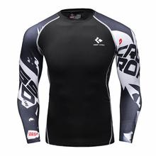 Under tee shirt homme Athletics Tops Blouse Breathable Compresion Shirt Armour Fitness tshirt MenWomen t-shirt