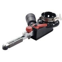 Cabezal adaptador para máquina lijadora, convertidor M10 M14 con bandas de lijado para amoladora angular eléctrica, para carpintería
