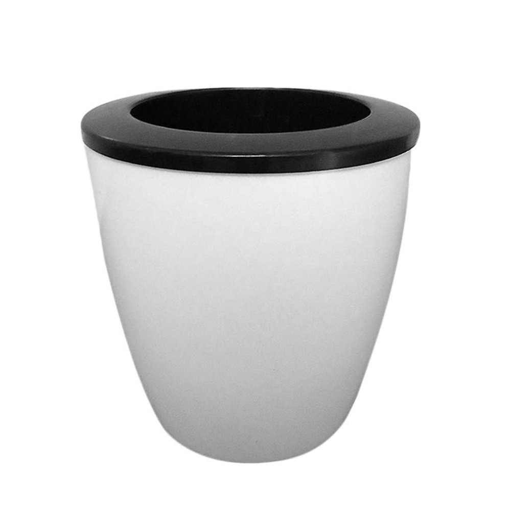 New Fashioable Automatic Self Watering Flower Plants Pot Put In Floor Irrigation For Garden Indoor Home Decoration Gardening