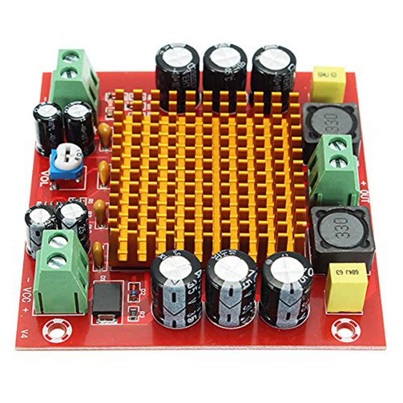 XH-M544 DC 12V 24V 150W TPA3116DA TPA3116 D2 Mono Kanal Digital Power Audio Verstärker Amp Bord