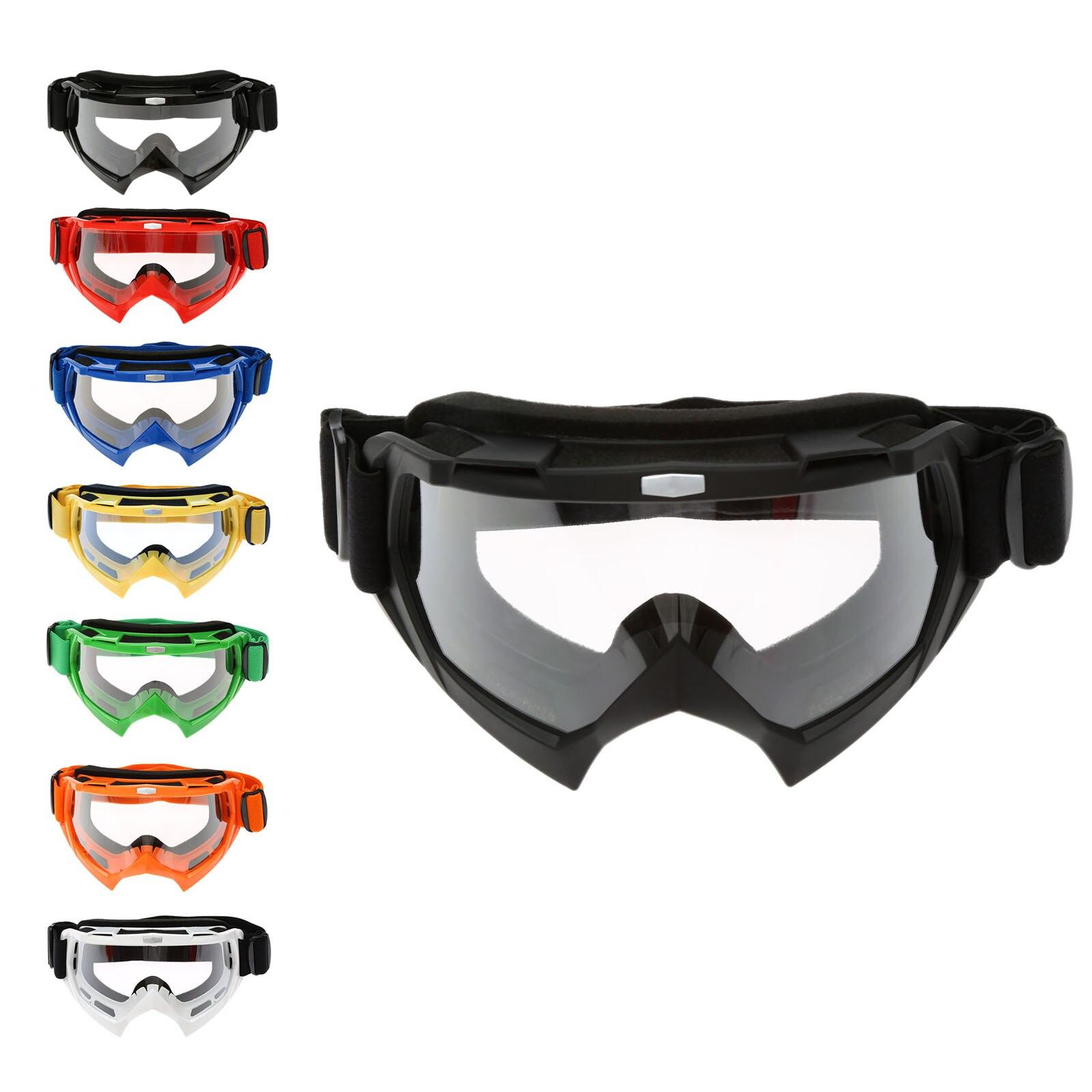 Óculos de Motocross Capacetes de Equitação Goggles Ski Snowboard Skate Motocicleta Off-Road ATV Dirt Bike Enduro Downhill Óculos À Prova de Poeira