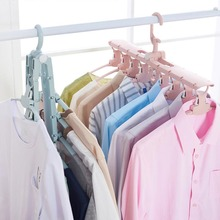 Multifunctional Magic Hanger Folding Clothes Multilayer Province Space Household Wardrobe Storage Artifact