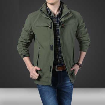 MANLI New Spring Mens Softshell Hiking Jackets Man Coats Tactical Windbreaker Men Waterproof Flight Pilot Coat Hoodie Military - DISCOUNT ITEM  34% OFF Sports & Entertainment