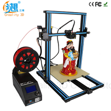 CREALITY 3D CR-10 Upgraded DIY Desktop 3D Printer Reprap Prusa i3 Equipment, Excessive Accuracy Tridimensional FDM Printer,3d Print Machine