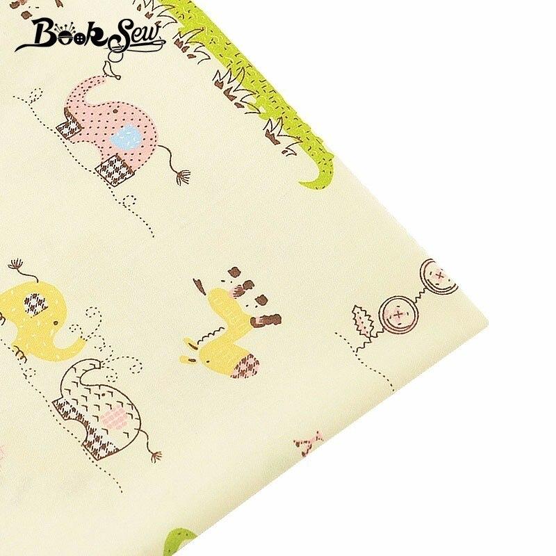 Aliexpress.com: Comprar Booksew tela de sarga de algodón 100 ...