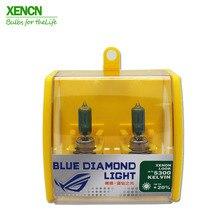 XENCN 12V холодный белый автомобильные галогенные лампы H1 H3 H4 H7 H8 H9 H10 H11 H13 H15 H16 HB1 HB3 HB4 HB5 880 881 9012 9005 9006 H8B H9B