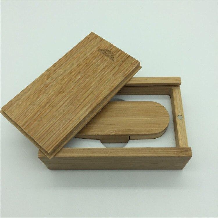 Hot Sale (OVER 10 PCS gratis LOGO) træ USB + boks USB Flash Drive - Ekstern lagring - Foto 4
