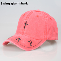 Swing Giant Shark 2017 New Cap Fashion Unisex Baseball Cap Lady Snapback Casquette Hip Hop