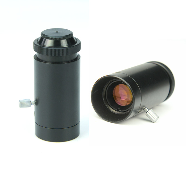 10-50x Zoom Mini Pocket Microscope Can be Used as Jewelry Magnifier with Aluminium Alloy Shell and Glass Lens