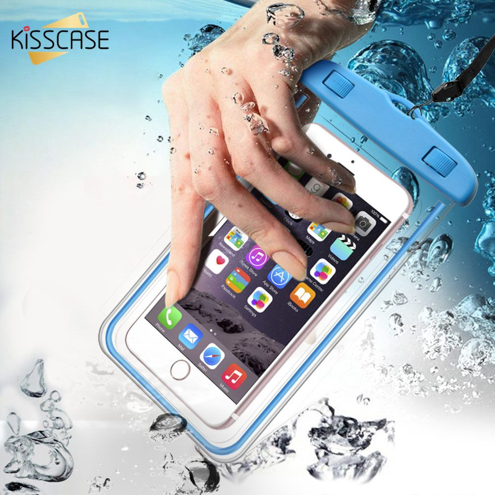 Waterproof Case For IPhone 11 PRO MAX 8 X XS XR 7 Mobile Phone Bag Luminous Photography Underwater Protector Bag For Samsung S10