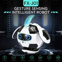 KUBO Ball Robot AI Robotic Sensing Gesture Companion Robot Intelligent Robot Dancing Singing Toys For Children Gift