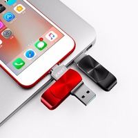 EAGET 2 in 1 OTG USB 3.0 U Disk Flash Drive Memory Stick Mobile Phone Computer High Speed Flash Disk For iPhone