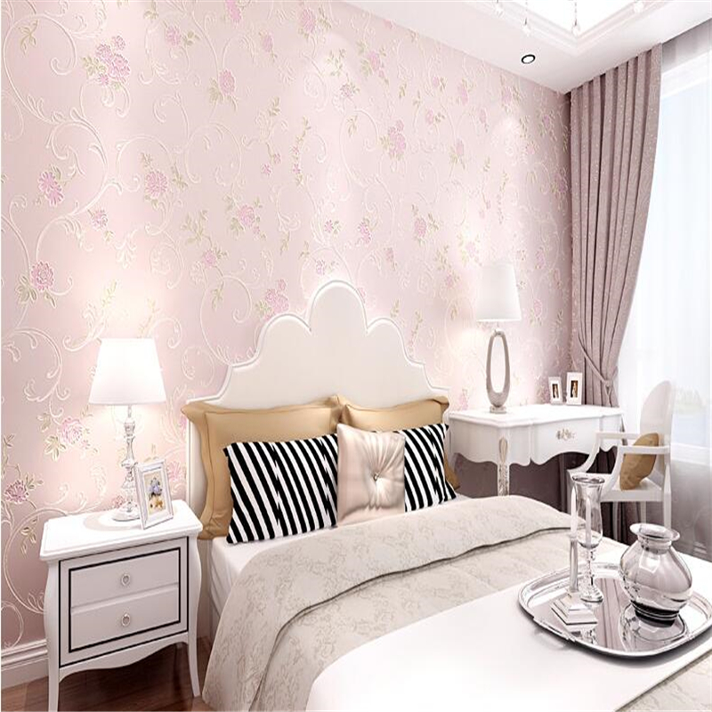 beibehang papel de parede Non woven  The sitting room the bedroom wall paper in the background European pastoral wallpaper beibehang papel de parede retro classic apple tree bird wallpaper bedroom living room background non woven pastoral wall paper