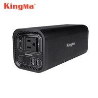 Kingma Портативный Мощность Перезаряжаемые генератор большой Ёмкость мобильный Батарея бытовой AC Выход USB аварийного резервного питания