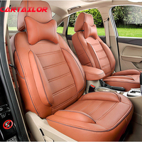 CARTAILOR Car Seat Covers & Supports PU Leather for Infiniti G35 G37 G25 Car Accessories Full Set Cover Seats Cushion Protector