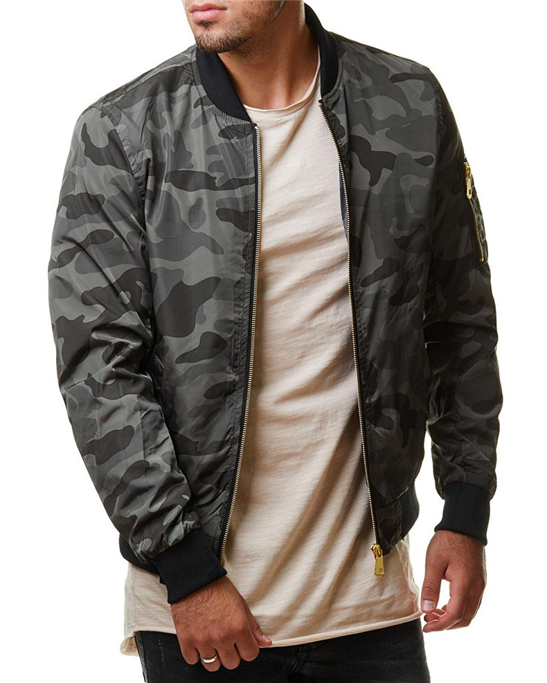 7XL Jackets Men 2019 Camouflage Jacket Male Coats Camo Bomber Mens Jacket Brand Cloth Outwear Baseball Collar Plus Size 5XL 6XL 04