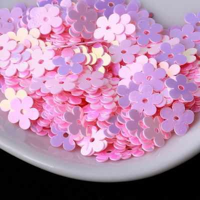 5000Pcs (50G) 7มม.ดอกไม้ชุบทองCentreหลวมเลื่อมPailletteเย็บ,งานแต่งงาน,เด็กDIYเสื้อผ้าอุปกรณ์เสริม