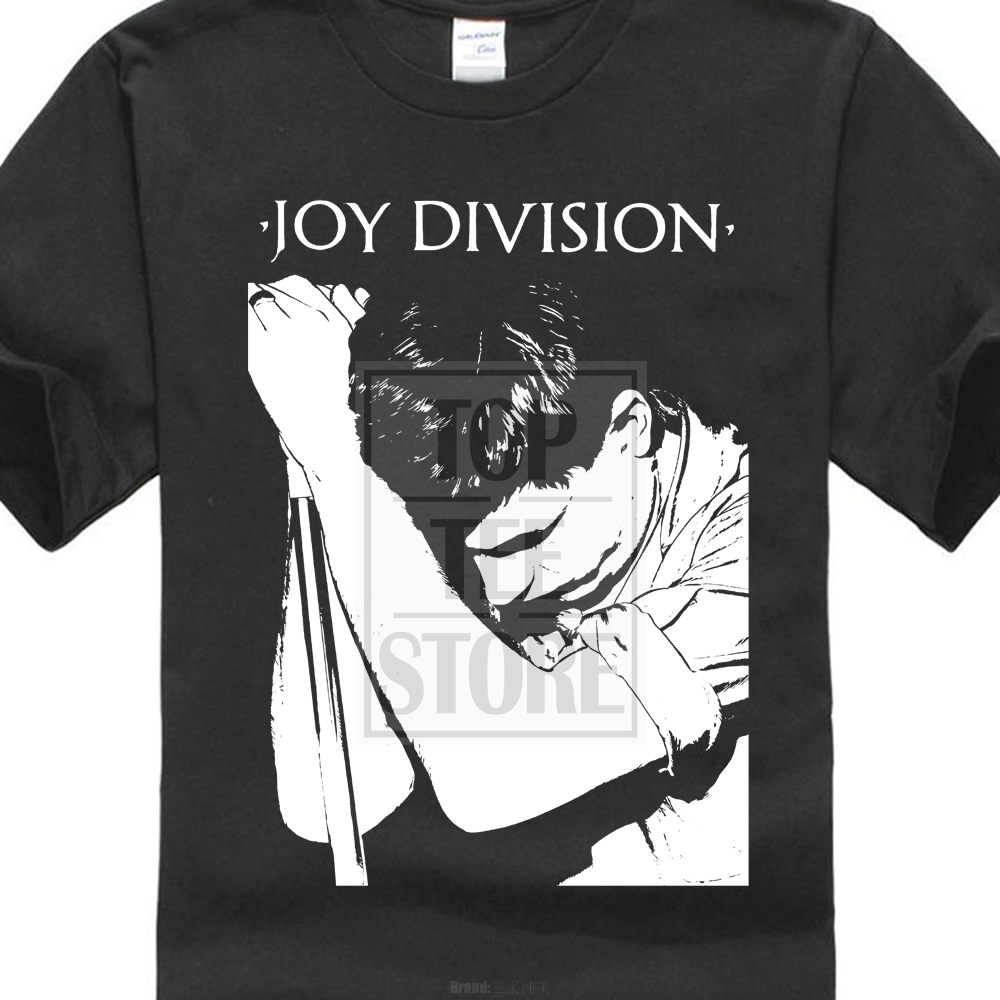 Joy Division Ian Curtis Black T Shirt New Order Bauhaus Warsaw Cure New Wave