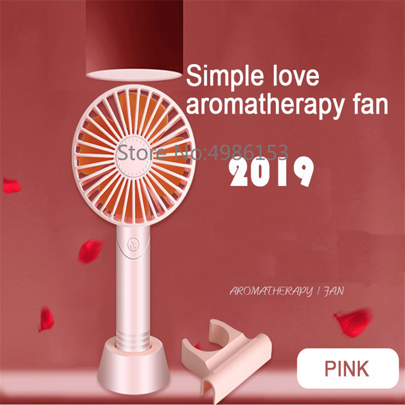 2019 New Handheld Electric Portable Fan Placed