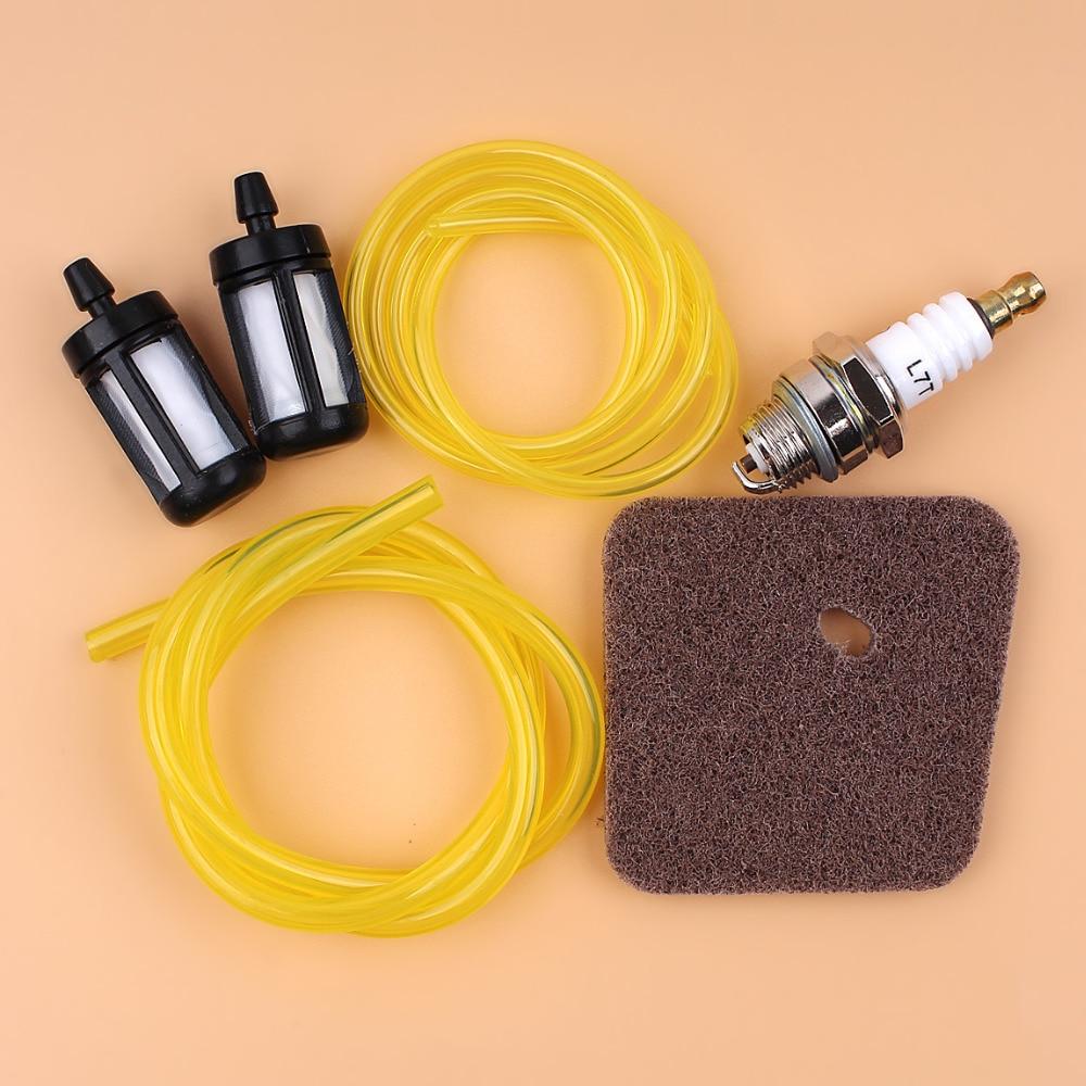 strimmer service kit fuel lines filter spark plug for Stihl FS80 FS85 FS74
