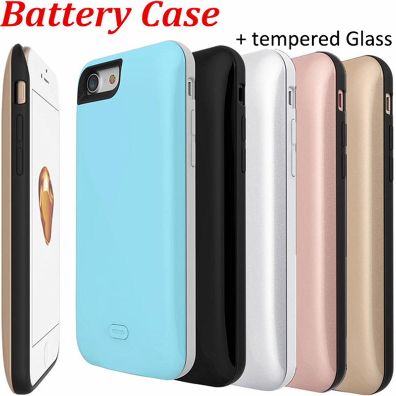 King 7 Battery Backup External Charger Case for IPhone 7 Battery Case Silicon 2600mAh is ultra