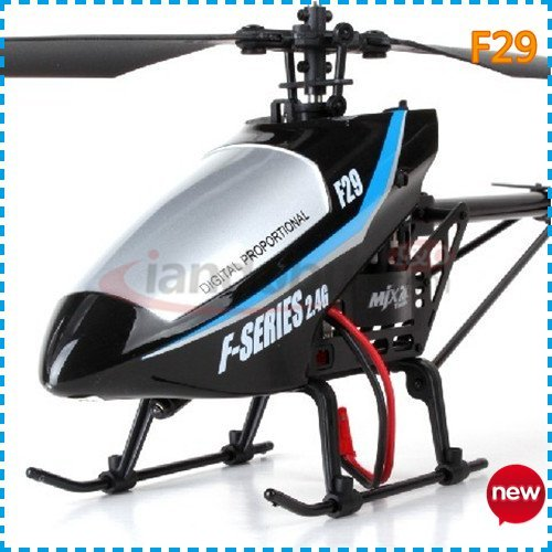 MJX F29 RTF 4CH Mini Rc Helicopter With GYRO + As a birthday gift