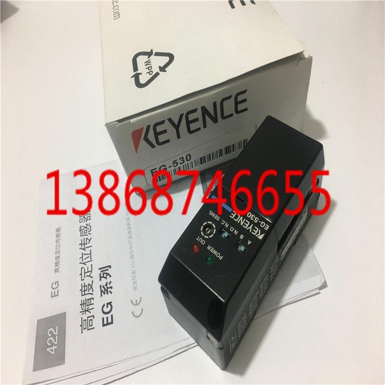 NEW IN BOX KEYENCE POSITIONING SENSOR EG-530