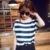 Mulheres clássicas Camisas Estilo Da Forma Impressa Chiffon Camisas Primavera Verão Outono Camiseta XFS3-An-E