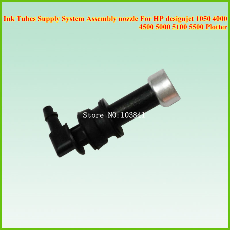 цены  Compatible new Ink Tubes Supply System Assembly nozzle For HP designjet 1050 4000 4500 5000 5100 5500 Plotter