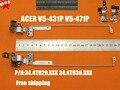 Novo laptop lcd original dobradiças para acer aspire v5-431p v5-471p v5-471pg v5-431pg 34.4tu29.xxx 34.4tu30.xxx notebook dobradiças