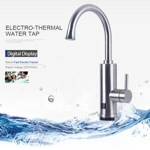 Image 3 - Kbaybo 3000 ワットの電気温水器インスタントましょう下タンクレス給湯器ホットとコールド蛇口キッチンシンク水加熱