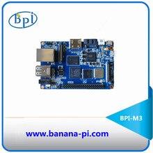2 ГБ оперативной памяти Восьмиядерный BPI-M3 банан Pi M3 одноплатный компьютер и Совет по развитию с EMMC, wifi, BT модуль на борту