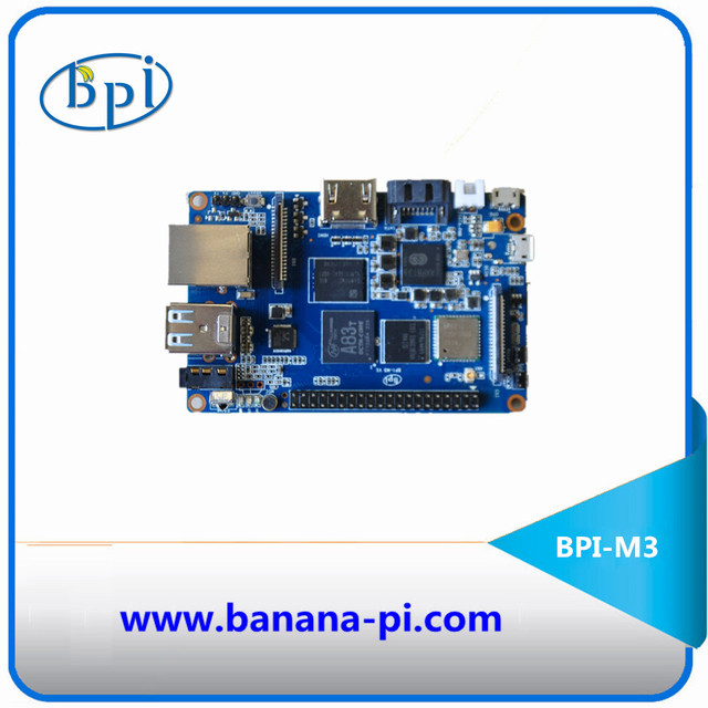 2GB of RAM Octa-Core BPI-M3 Banana Pi M3 Single board computer&development board with EMMc ,WiFi,BT module on board
