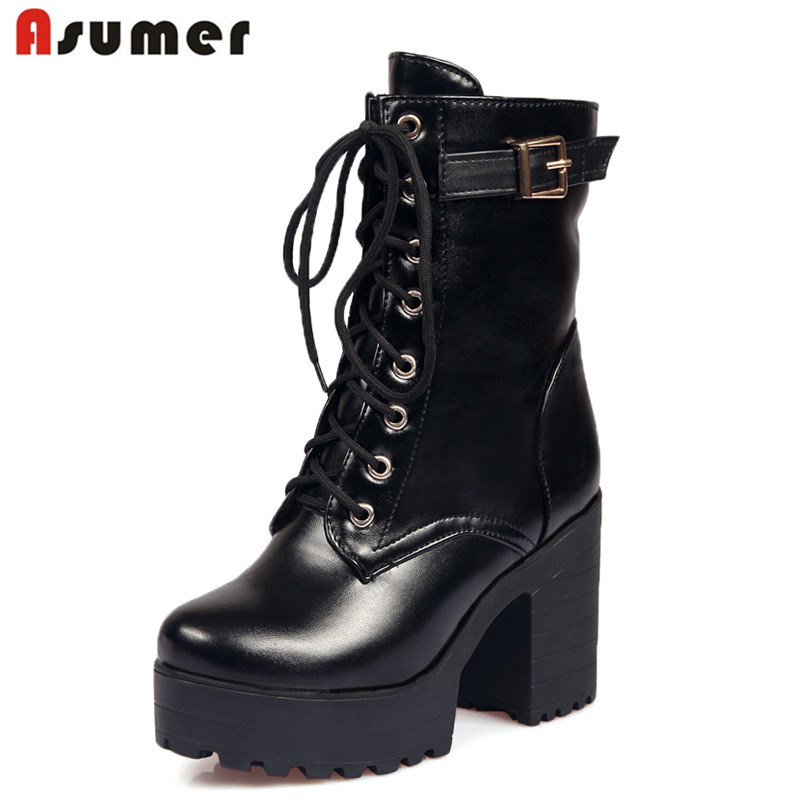 Ankle High Combat Boots Promotion-Shop for Promotional Ankle High ...