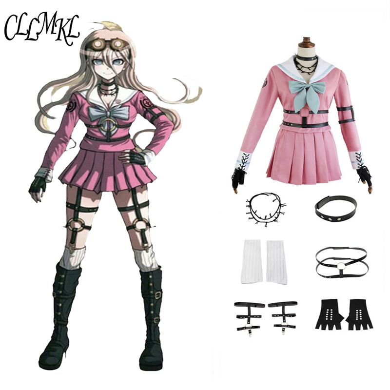 Cosplay Costume Danganronpa V3: Killing Harmony Iruma Miu Rabbit Uniform Halloween Christmas Anime Custom Made