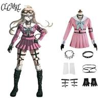 Cosplay Costume Danganronpa V3: Killing Harmony Iruma Miu Rabbit Uniform Halloween Christmas Anime custom made