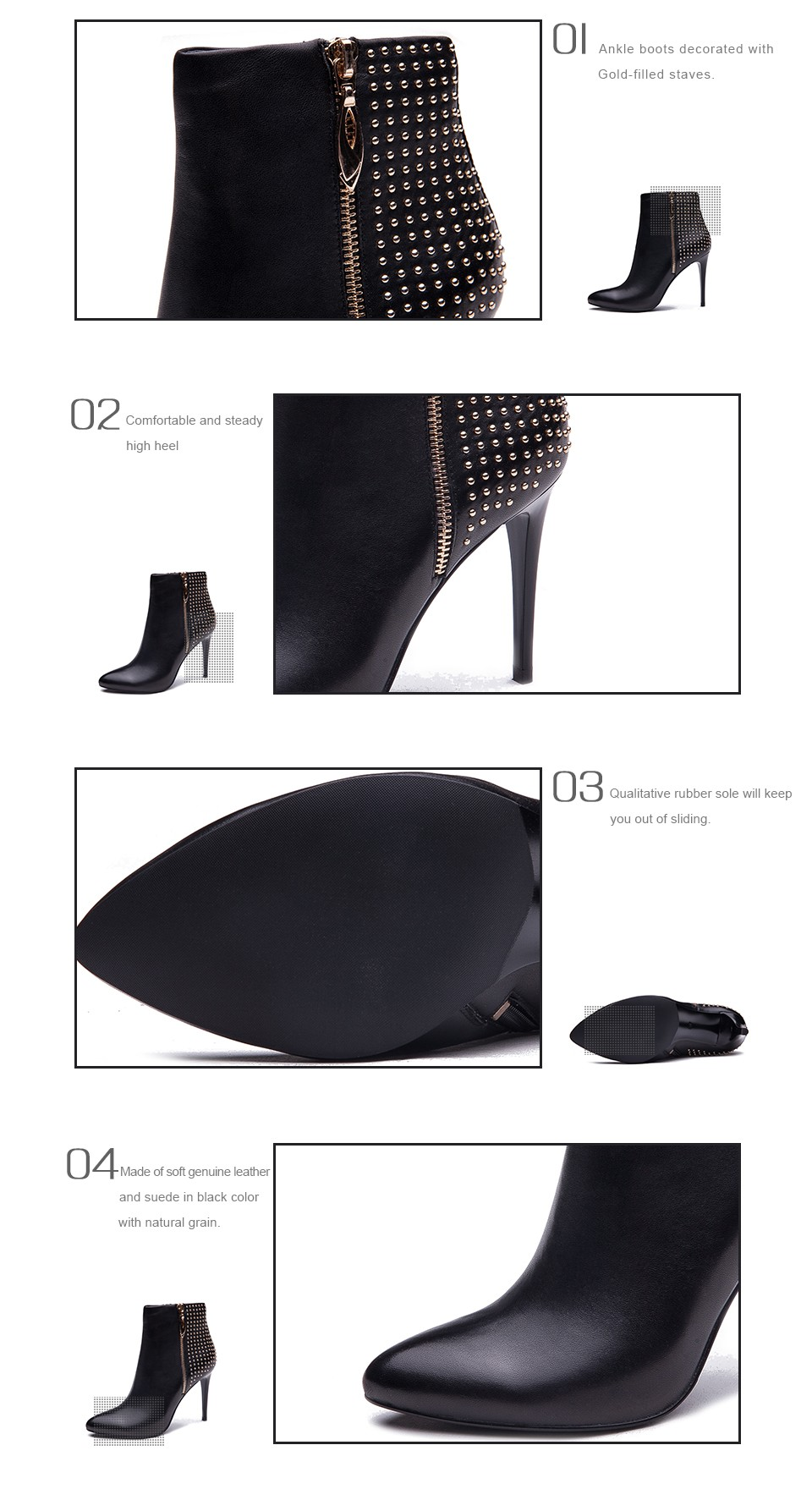 Details about  /Ladies High Stiletto Chelsea Boots Side-zip Stitching Colored Pointed Toe Hd214