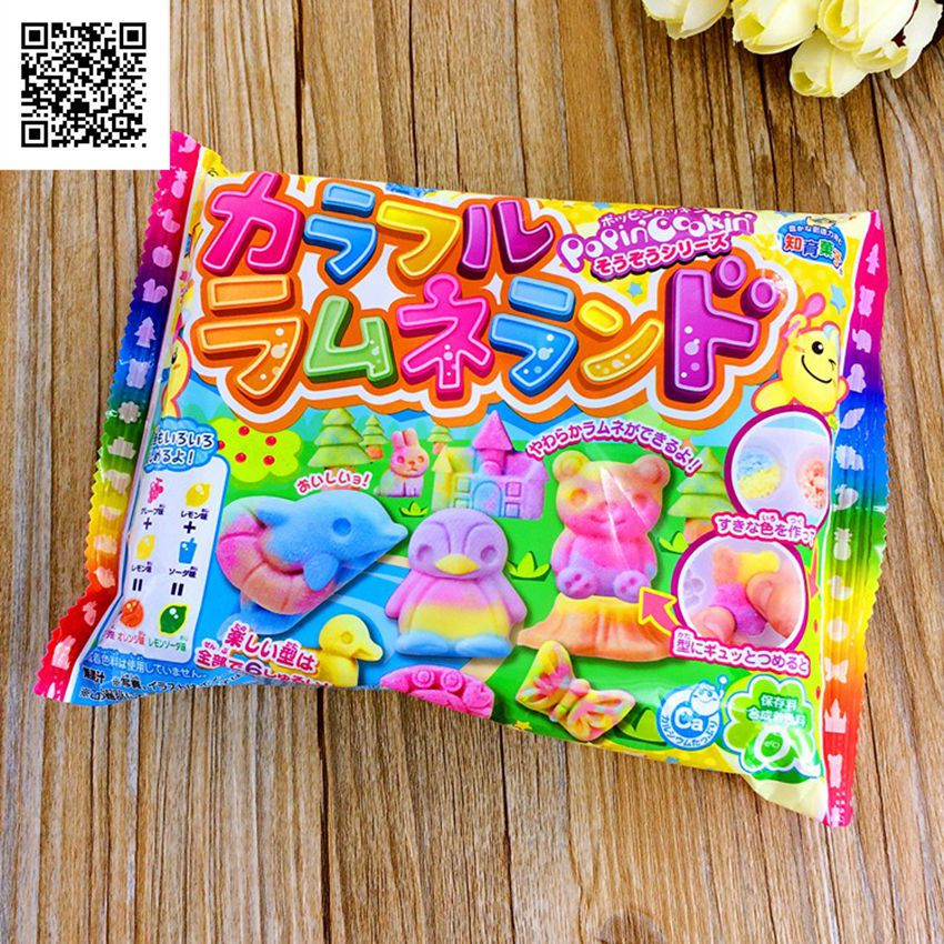 Popin Cookin Kracie multicolor happy penguin Bear cookin kitchen Japanese kitchen toy 2016 real sale popin cookin harry potter box bean boozled jelly beans crazy sugar adventure tricky game funny april fool s day