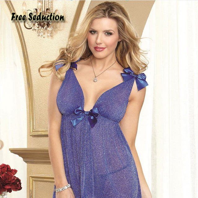 Free Seduction High Quality Sexy Lingerie Novelty Special Use Net Yarn Lace Perspective Gold Wire Mesh Sling Erotic Skirt