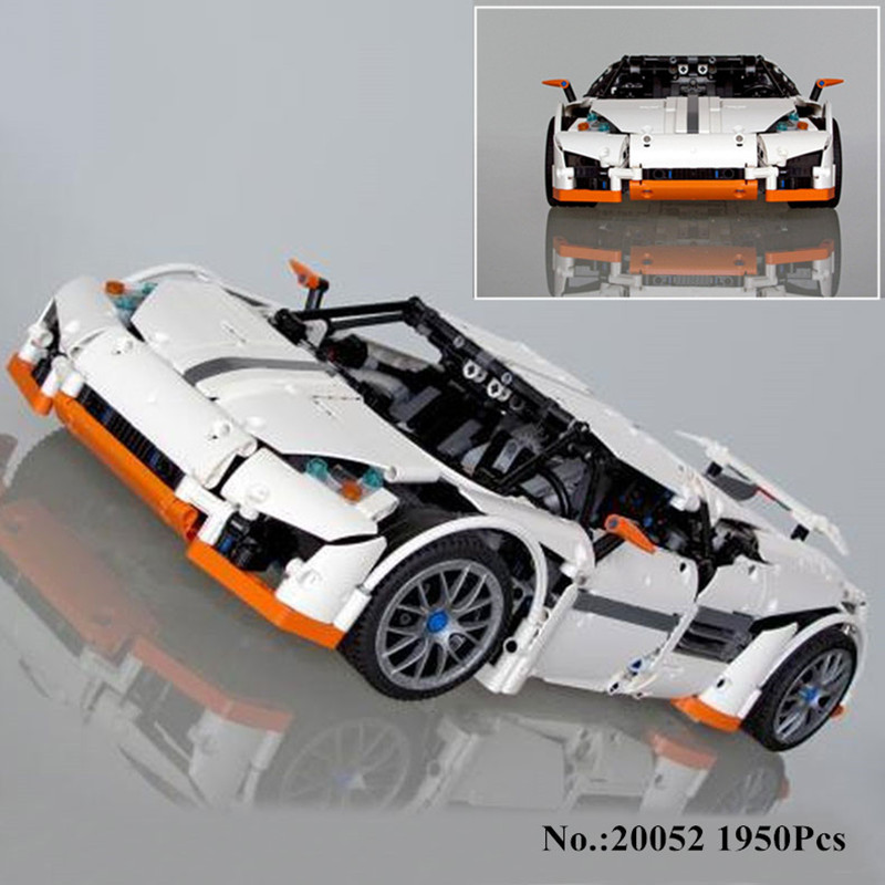 H&HXY IN STOCK 20052 1950Pcs Technic Serie The Predator Supercar Set MOC lepin Building Block Bricks Birthday Christmas Toy Gift lepin 06058 ninja serie die tempel der ultimative ultimative waffe modell bausteine set kompatibel 70617 spielzeug fur kinder